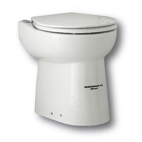Wc con trituratore incorporato sfa sanitrit sanicompact 43 silence