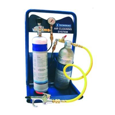 Tecnogas sistema per il lavaggio interno di tubazioni in rame per condizionamento codice 11591