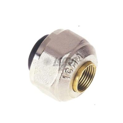 Dado icma 1/2''x16 per impianto in rame da 16 codice 81090fg06