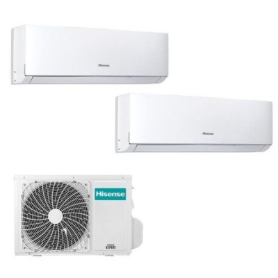 CLIMATIZZATORE HISENSE NEW COMFORT R32 DUAL 7000+12000+2AMW42UARRA