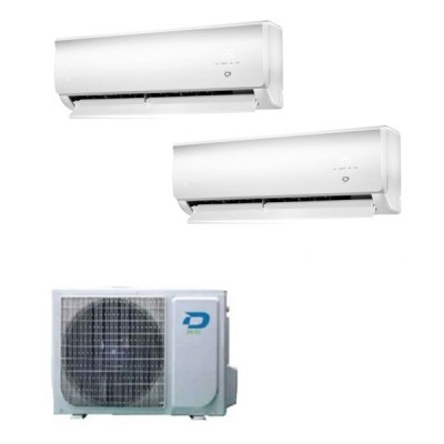 CLIMATIZZATORE DILOC WALL DUAL SPLIT 9000+9000+FROZEN200 R32 WI-FI