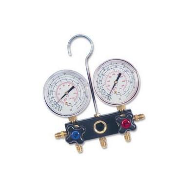 Wigam gruppo manometrico 2 vie per gas r407-r13 con vite di regolazione 04002032