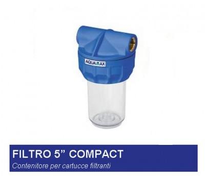 Contenitore per cartucce filtranti filtro 5