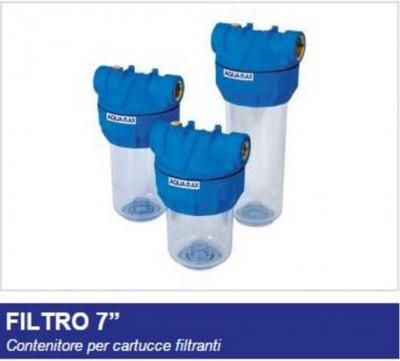 Contenitore per cartucce filtranti filtro medio 7