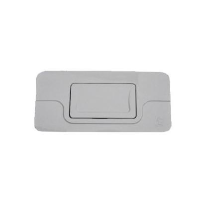 Placca per cassetta di scarico bianca stir blitz tipo nuovo