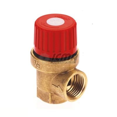 Icma valvola di sicurezza a membrana f/f 1/2'' 3 bar codice 91241adaf