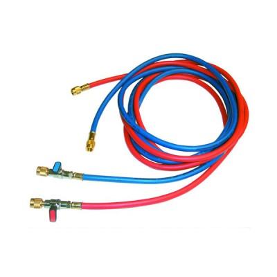 Tecnogas tubo rosso per vuoto e carico per gas refrigerante 5/16x5/16 11446