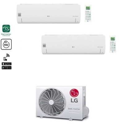 CLIMATIZZATORE LG LIBERO SMART DUALSPLIT 9000+12000+MU2R15 R-32 WI-FI