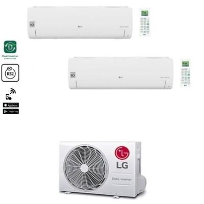 CLIMATIZZATORE LG LIBERO SMART DUALSPLIT 9000+12000+MU2R17 R-32 WI-FI