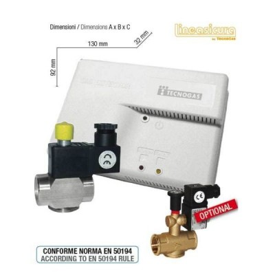 TECNOGAS KIT RILEVATORE GAS METANO