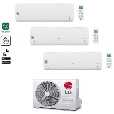 CLIMATIZZATORE LG LIBERO SMART TRIALSPLIT 9000+9000+9000+MU3R19 INVERTER R-32